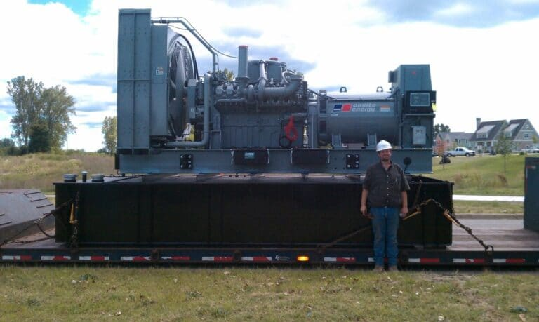 Genset for BHWFP
